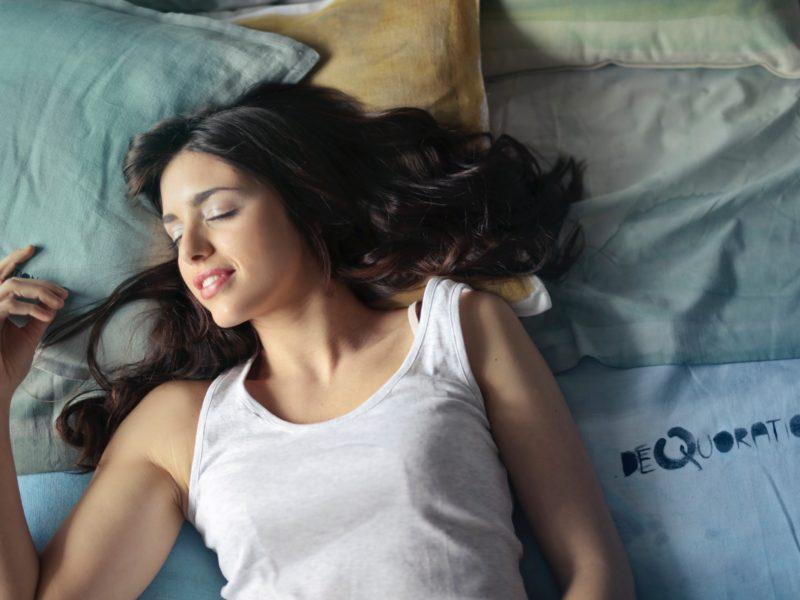 Bättre sömn i svalt sovrum
